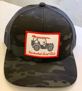 Willys NSC Snapback Black/Tan Camo