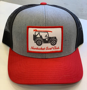 Willys NSC Snapback Gray/Red/Black