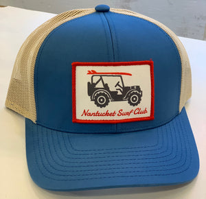 Willys NSC Snapback Blue/tan