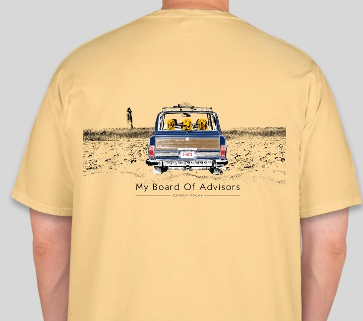 My board of advisors-Yellow Tee Shirt