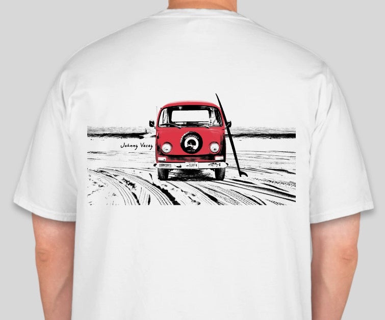 VW Surf Bus - White Tee shirt