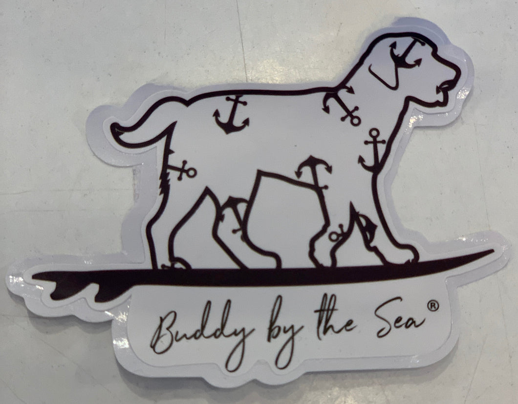 Buddy sticker small