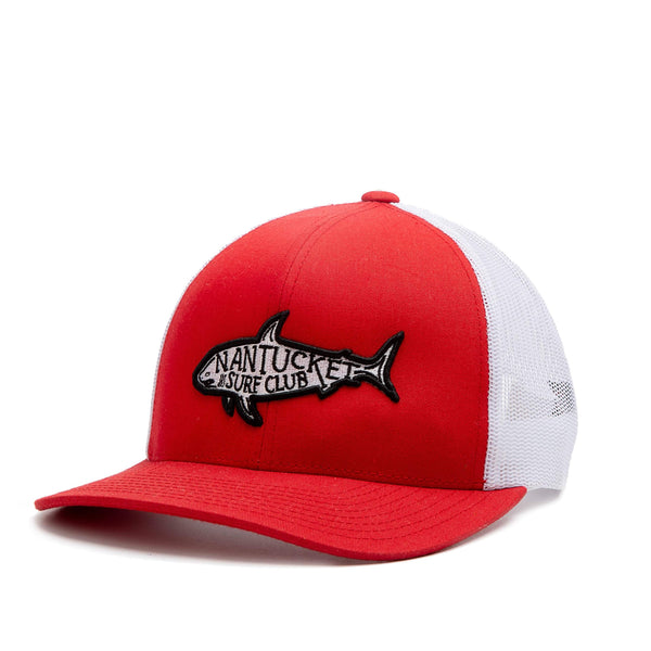 Shark Hat Red