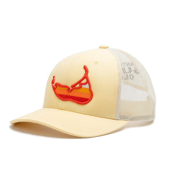 Sunset Island Hat Yellow