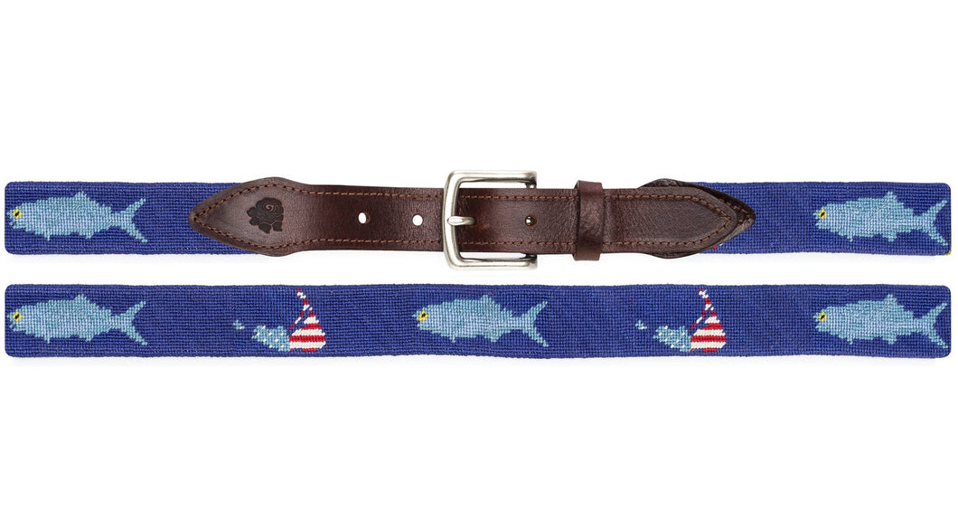 Nantucket Belt Blue