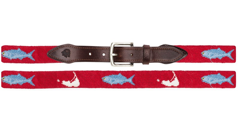 Nantucket Belt Red