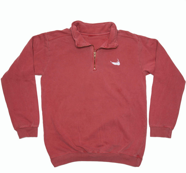 Nantucket Red Quarter Zip