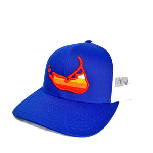Sunset Island Hat Royal Blue
