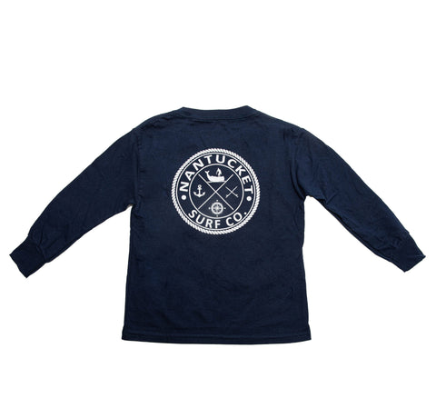 Kids Long Sleeve Map