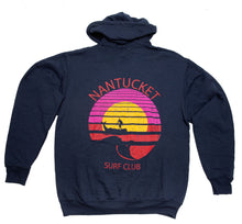 Load image into Gallery viewer, NSC Navy Hoody - Retro Logo