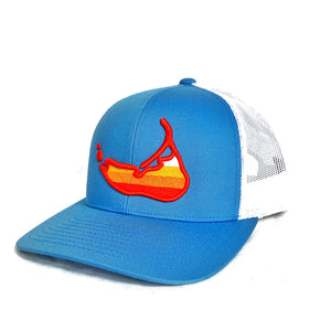 Sunset Island Hat Carolina Blue