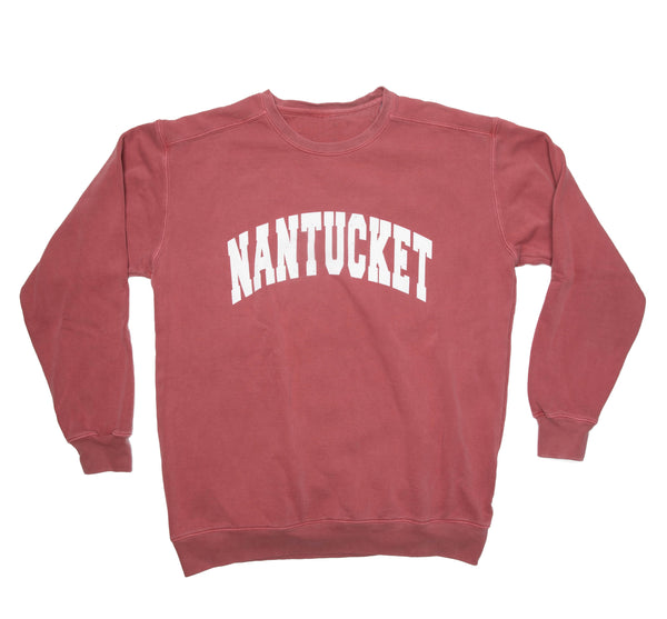 Nantucket Sweatshirt - Crimson