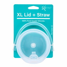 Load image into Gallery viewer, Sili Pint Lid and Straw Bundle XL