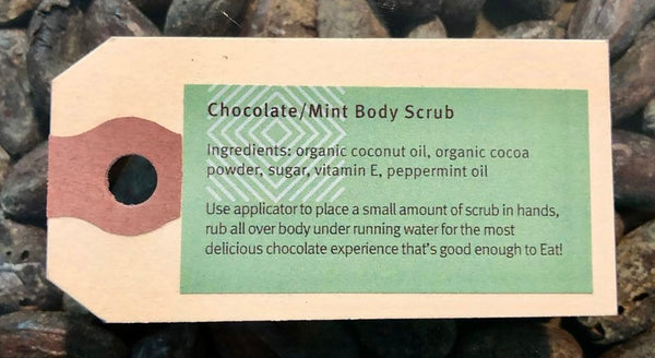Chocolate/Mint Body Scrub