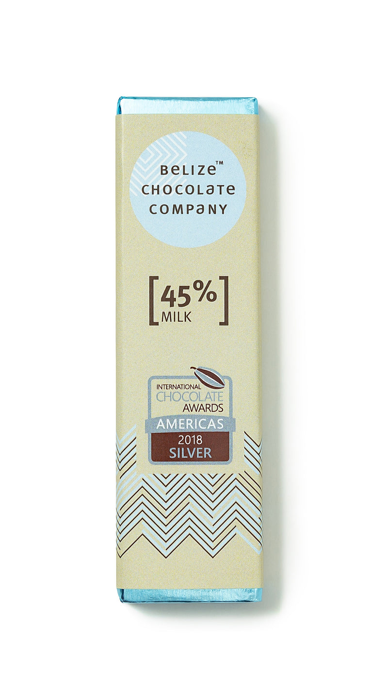 Belize Chocolate Company 45% milk bar