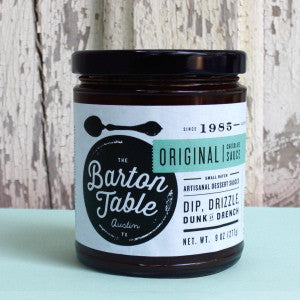 The Barton Table Original Chocolate Sauce