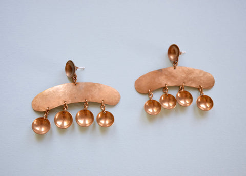 Sonambulo: Martillo Dome Earrings