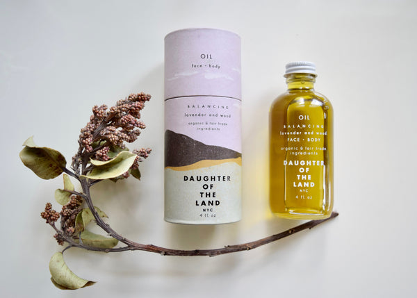 Lavender + Wood // Face + Body Oil