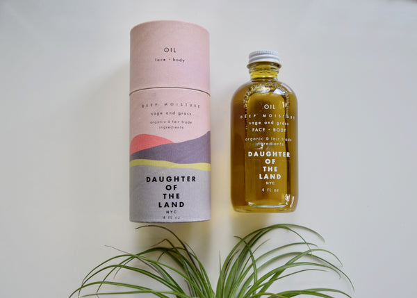 Sage + Grass // Face + Body Oil
