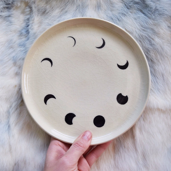 Small Spells: Moon Phase Plate