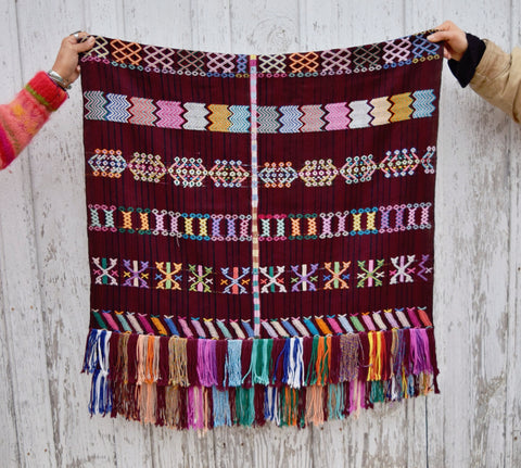 Hand Woven Guatemalan Textile