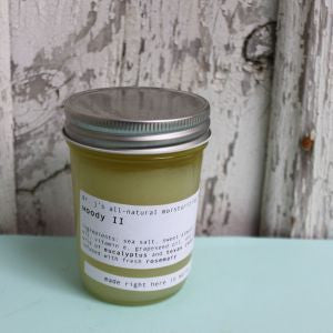 Dr. J's Apothecary: All Natural Salt Scrub - Woody II