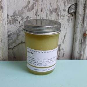 Dr. J's Apothecary: All-Natural Salt Scrub- Woody