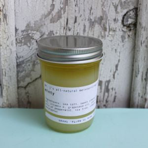 Dr. J's Apothecary: All-Natural Salt Scrub - Minty