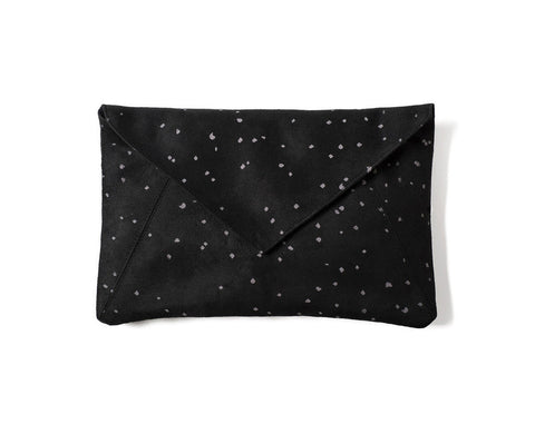 Lee Coren: Confetti Envelope Clutch & Strap