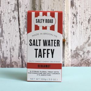 Salty Road Salt Water Taffy: Bergamot