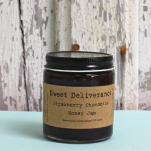 Sweet Deliverance: Strawberry Chamomile Honey Jam