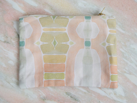 Bunglo Cotton + Linen Pouch