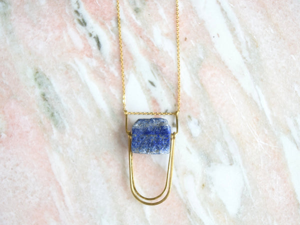 Is Was + Will Be: Land of Sky Necklace