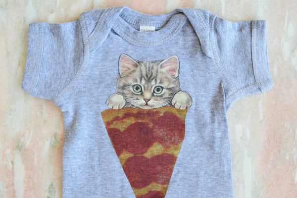 Wowch Pizza Cat Babysuit