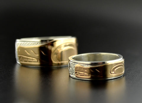 Matching Native Wedding Rings