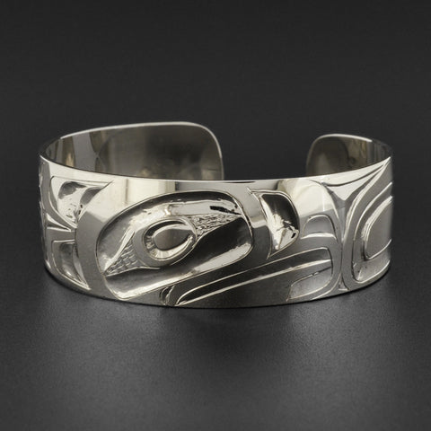 Blue Mountain Hawk - Silver Bracelet