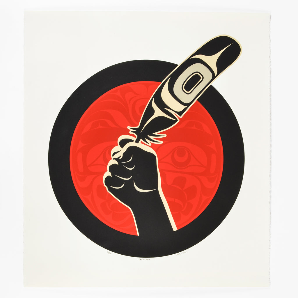 Idle No More! - Limited Edition Print
