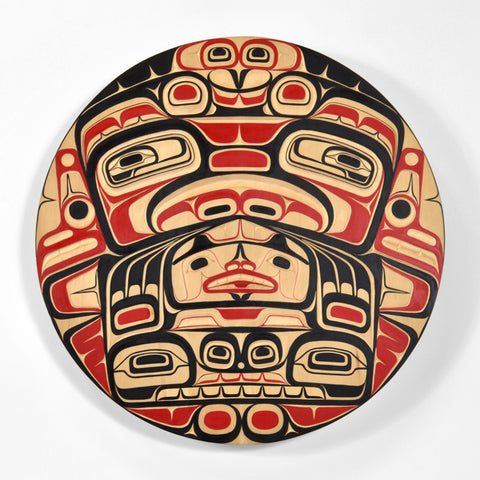 Supernatural Killerwhale - Yellow Cedar Panel
