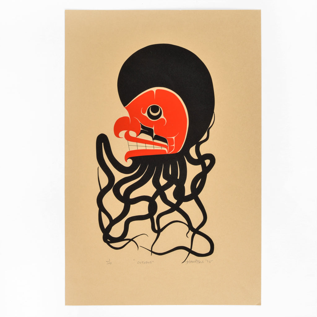 Octopus - Limited Edition Print