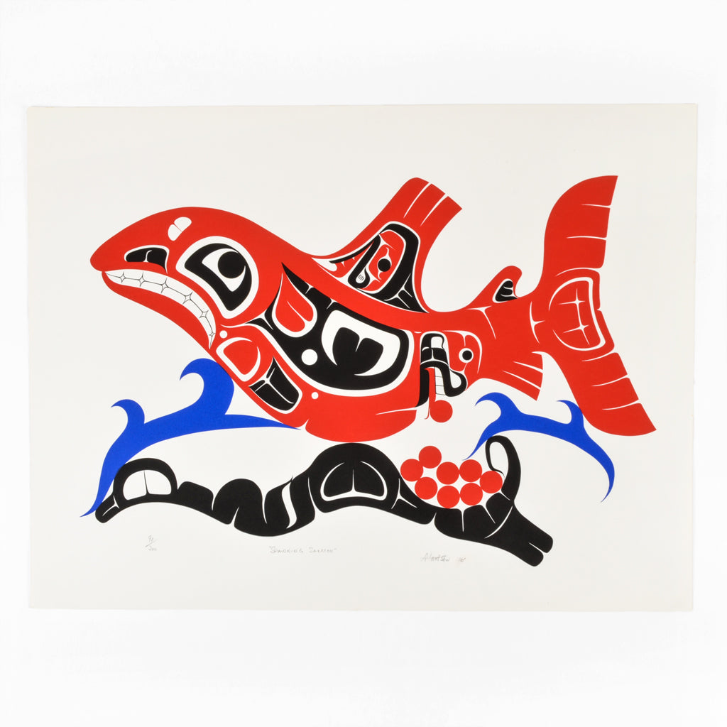 Spawning Salmon - Limited Edition Print