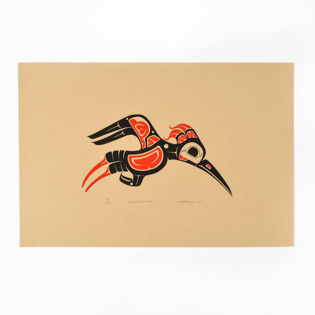 Woodpecker - Limited Edition Print