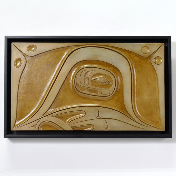 It's All About U - Bronze Forton Cast Panel