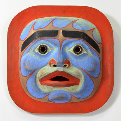 Komokwa Speaker - Red Cedar Mask