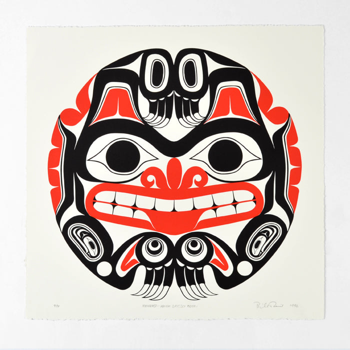 Haida Grizzly Drum - Limited Edition Print
