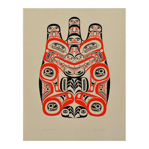 Haida Grizzly - Limited Edition Print