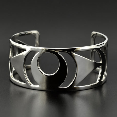 The Watchful Eye - Silver Bracelet
