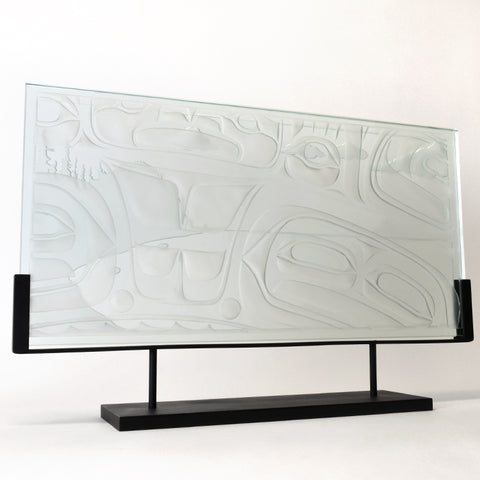 Tow Hill, Haida Gwaii - Glass Panel