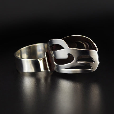 Transformation of Artist - Silver Ring