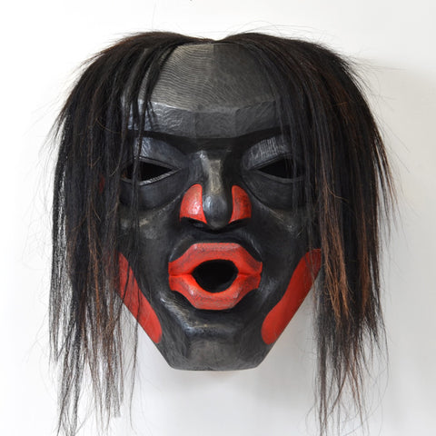 Dzunukwa - Red Cedar Mask