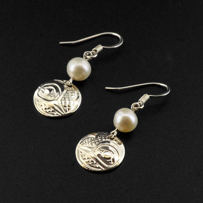 Assorted - Silver Earrings with Freshwater Pearl